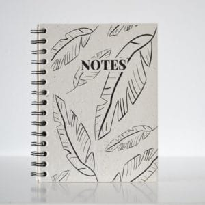 Jungle Leafs Notebook