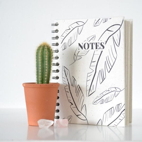 Jungle Leafs Notebook decor