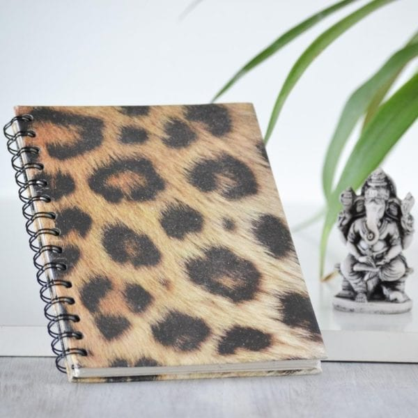 Animal print Notebook Leopard decor