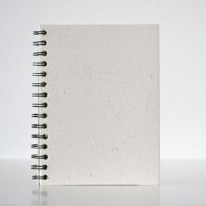 Plain Notebook white