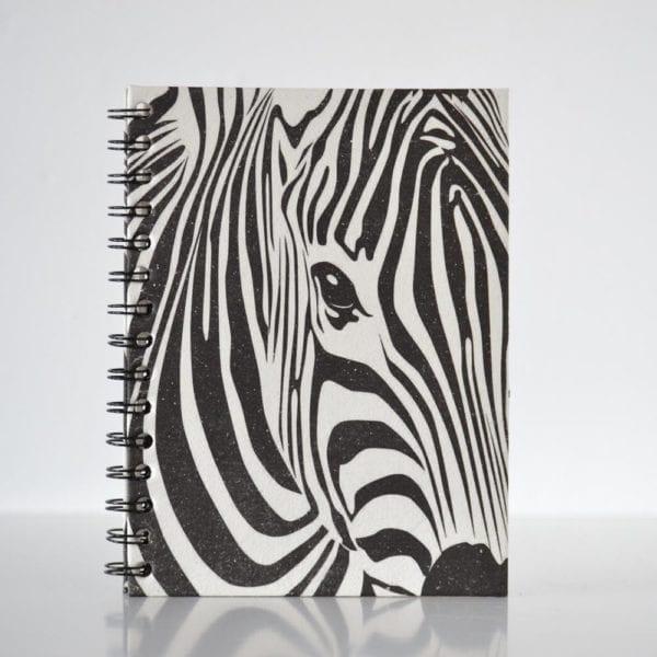 Animal print Notebook Zebra