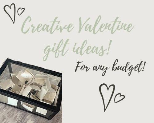 creative valentine gift ideas