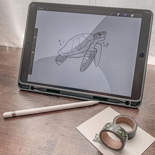sustainable art supplies -nr3- iPad