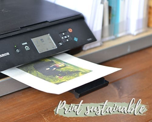 print sustainable